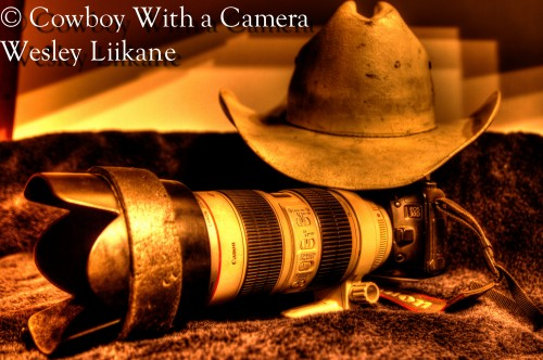 ©Wesley Liikane – Cowboy with a Camera