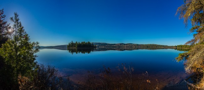 Algonquin Moose Shoot Pano - Lake of Two Rivers